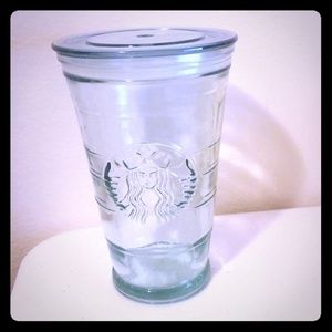 Recycled glass cold cup